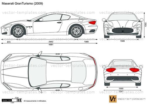 templates - cars - maserati