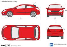 Opel Astra H 3-Door