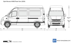 Opel Movano MWB Panel Van
