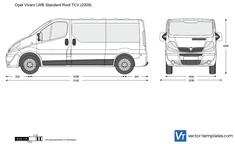 Opel Vivaro LWB Standard Roof TCV