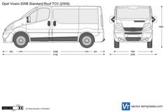 Opel Vivaro SWB Standard Roof TCV