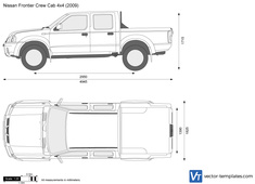 Nissan Frontier Crew Cab 4x4