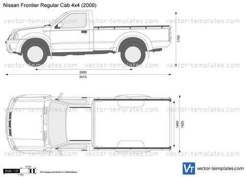 2012 Dodge Ram 1500 Headlights >> Templates - Cars - Nissan - Nissan Frontier Regular Cab 4x4