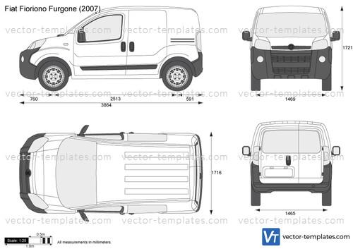 Templates Cars Fiat Fiat Fiorino Furgone