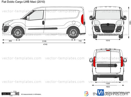 templates cars fiat fiat doblo cargo lwb maxi. Black Bedroom Furniture Sets. Home Design Ideas