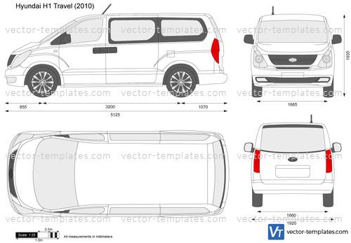 Templates Cars Hyundai Hyundai H1 Travel