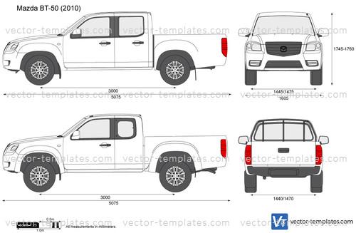 Templates - Cars - Mazda - Mazda BT-50