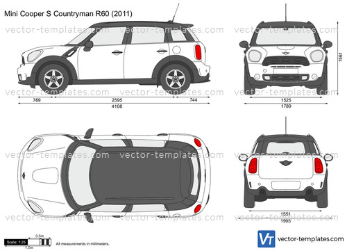 Templates Cars Mini Mini Cooper S Countryman R60
