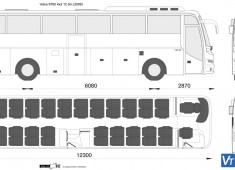 Volvo 9700 4x2 12.3m
