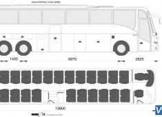 Volvo 9700 6x2 13.8m