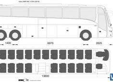 Volvo 9900 6x2 13.8m