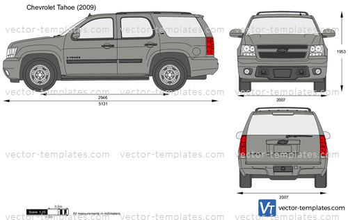 Templates - Cars - Chevrolet - Chevrolet Tahoe