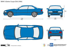 BMW 3-Series Coupe E36