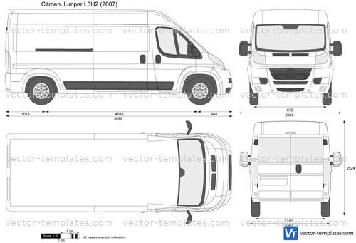 templates - cars - citroen