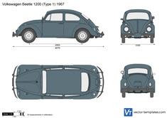 Volkswagen Beetle 1200 (Type 1)