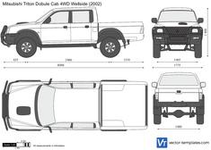 Mitsubishi Triton Double Cab 4WD Wellside