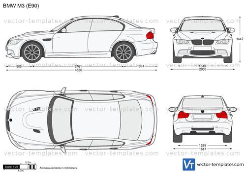 templates - cars - bmw