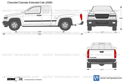 Templates Cars Chevrolet Chevrolet Colorado Extended Cab