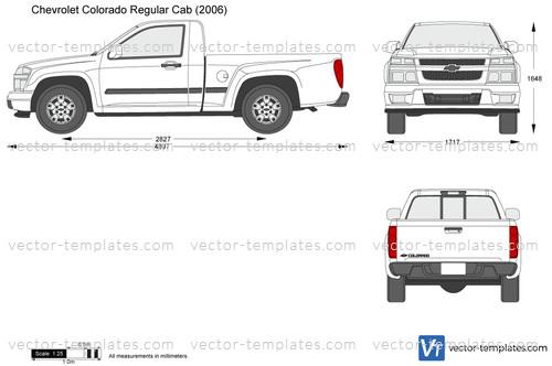 2016 Ford Super Duty >> Templates - Cars - Chevrolet - Chevrolet Colorado Regular Cab