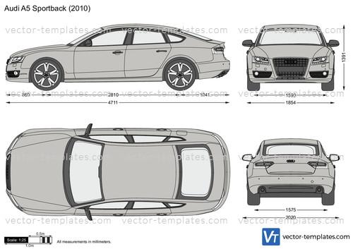 Templates Cars Audi Audi A5 Sportback