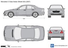 Mercedes-Benz C-Class Sedan W203