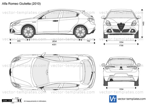 templates - cars - alfa romeo
