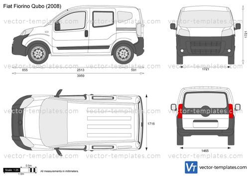 Templates Cars Fiat Fiat Fiorino Qubo
