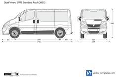 Opel Vivaro SWB Standard Roof
