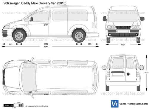 Templates Cars Volkswagen Volkswagen Caddy Maxi