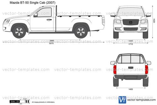 Mazda BT-50 Single Cab