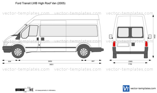 Templates Cars Ford Ford Transit Lwb High Roof Van