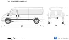 Ford Transit Minibus 15-seat