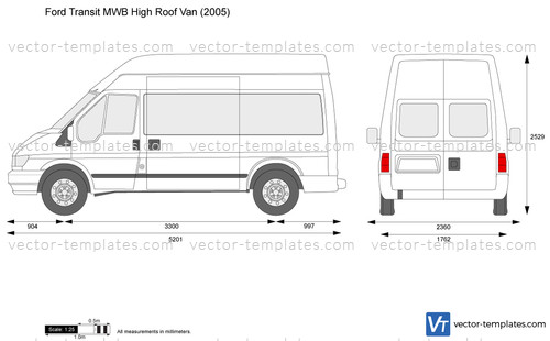 Templates Cars Ford Ford Transit Mwb High Roof Van