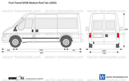 Templates Cars Ford Ford Transit Mwb Medium Roof Van