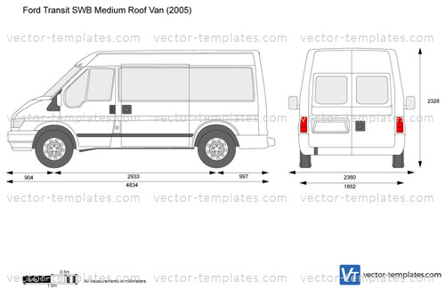 Ford Transit SWB Medium Roof Van