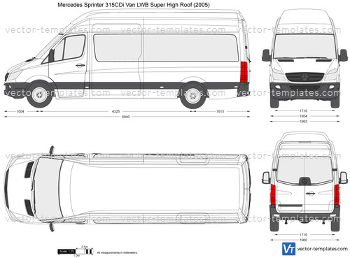 Mercedes-Benz Sprinter 315CDi Van LWB Super High Roof