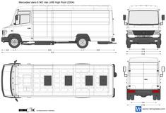 Mercedes-Benz Vario 614D Van LWB High Roof