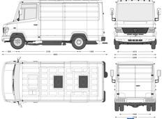 Mercedes-Benz Vario 814D Van SWB