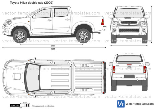 Templates Cars Toyota Toyota Hilux 4x4 Double Cab