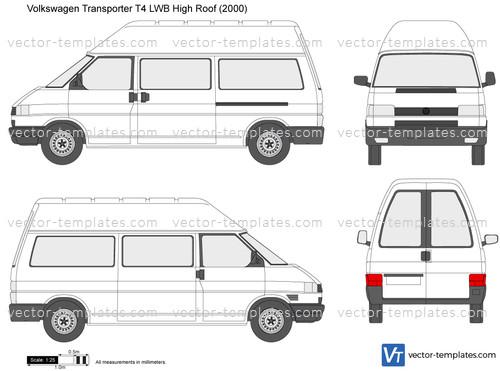 Volkswagen Transporter T4 LWB High Roof