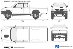Mitsubishi L200 Club Cab Warrior