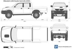 Mitsubishi L200 Double Cab 4Life