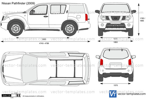 2012 Dodge Ram 1500 Headlights >> Templates - Cars - Nissan - Nissan Pathfinder