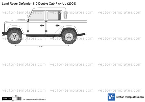 templates - cars - land rover
