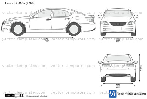 templates - cars - lexus