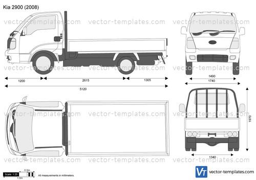 templates - cars - kia