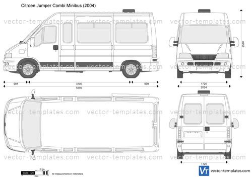 templates cars citroen citroen jumper combi minibus. Black Bedroom Furniture Sets. Home Design Ideas