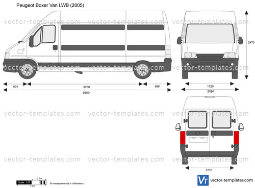 Templates Cars Peugeot Peugeot Boxer Van Lwb