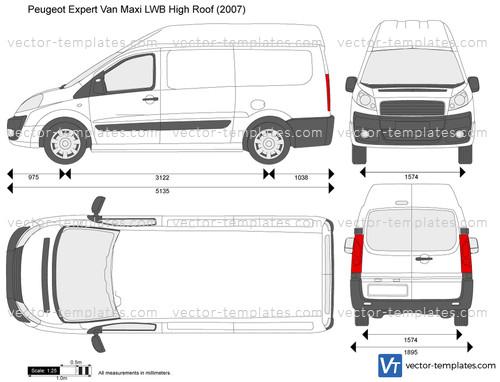Templates Cars Peugeot Peugeot Expert Van Maxi Lwb