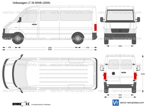Volkswagen LT 35 MWB